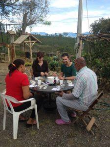 Familias cafeteras colombianas