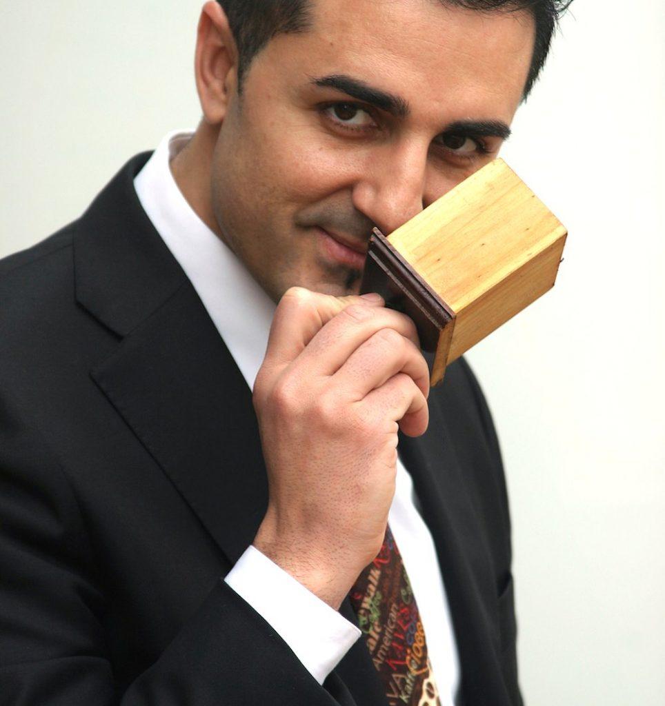 Barista Xavi Iglesias